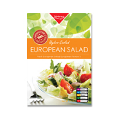 European Salad Label Template
