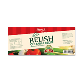 Sweet Relish Label Template