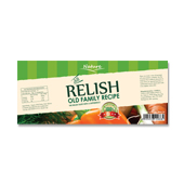 Dill Relish Label Template