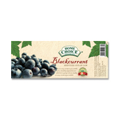 Blackcurrant Jam Label Template