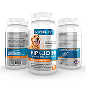 Pet Hip & Joint Supplement Label Template