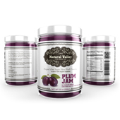 Plum Jam Label Template