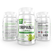 Triphala Supplement Label Template