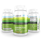 Green Tea Extract Supplement Label Template