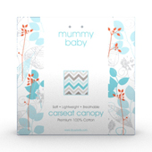 Baby Carseat Canopy Packaging Template