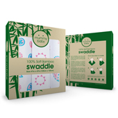 Baby Bamboo Swaddle Packaging Template