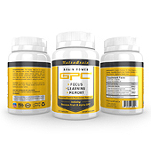 Brain Alpha GPC Supplement Label Template