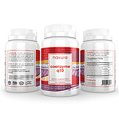 Coenzyme Q10 Supplement Label Template