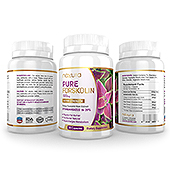 Pure Forskolin Supplement Label Template