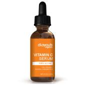 Vitamin C Serum Label Template