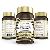 Bee Propolis Supplement Label Template
