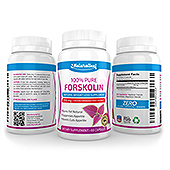 Forskolin Supplement Label Template
