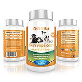 Pet Daily Probiotics Supplement Label Template