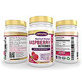 Raspberry Ketones Supplement Label Template