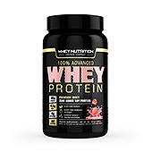 Whey Protein Sports Nutrition Strawberry Label Template