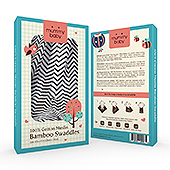 Baby Muslin Swaddle Packaging Template