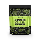 Slimming Detox Tea Label Template