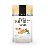 Organic Maca Root Powder Label Template