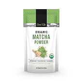 Organic Matcha Green Tea Powder Label Template