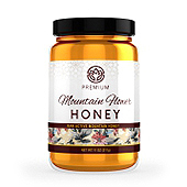 Mountain Flower Honey Label Template