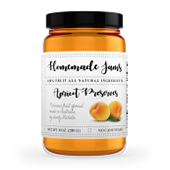 Apricot Jam Label Template