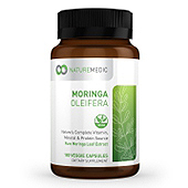 Moringa Oleifera Supplement Label Template