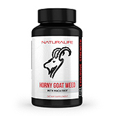 Horny Goat Weed Supplement Label Template