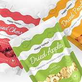 Dried Fruits Packaging Template