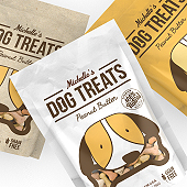 Dog Treats Packaging Template