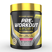 Pre Workout Powder Supplement Label Template