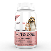 Pet Skin & Coat Supplement Label Template