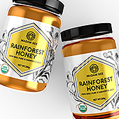 Raw Honey Label Template