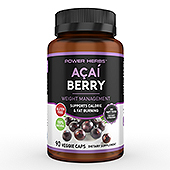 A�a� Berry Supplement Label Template