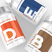 Clean Supplement Label Template