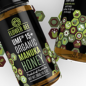 Manuka Honey Labels Template