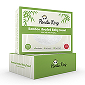 Bamboo Hooded Baby Towel Packaging Template