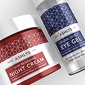 Facial and Eye Cream Label Template