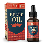 Beard Oil Packaging & Label Template