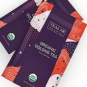 Organic Oolong Tea Loose Leaf Packaging Template