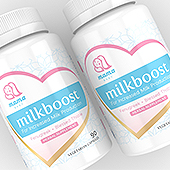 Mother Milk Booster Supplement Label Template