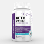 Keto Fat Burner Supplement Label Template