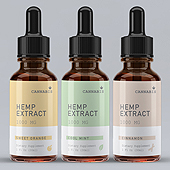 Hemp Oil Supplement Label Template