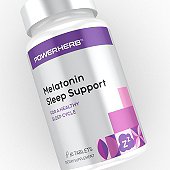 Sleep Support Supplement Label Template