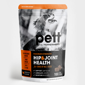 Pet Hip & Joint Health Packaging Template