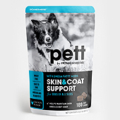 Pet Skin & Coat Support Packaging Template