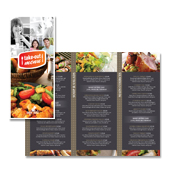 New Cafe Deli Take-out Tri Fold Menu Template