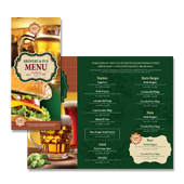 Brewery & Pub Take-out Menu Template