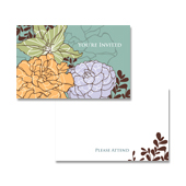 Invitation Note Card Template