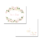 Tea Party Invitation Note Card Template