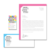 Yoga Instructor & Studio Stationery Kits Template